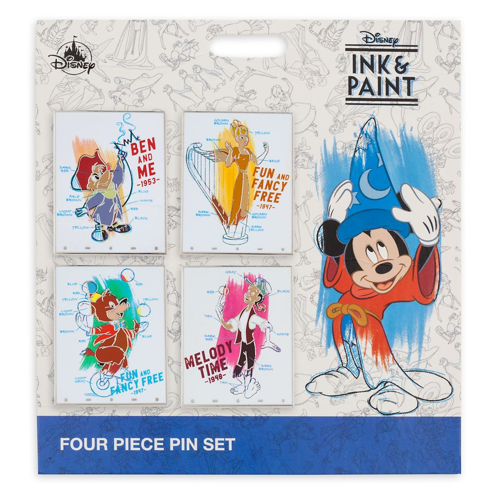 Disney Ink & Paint Pin Set
