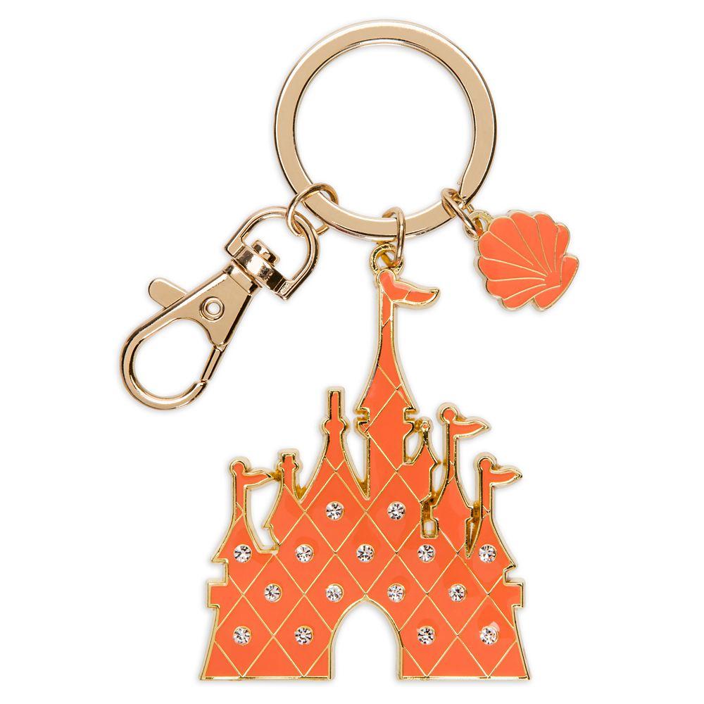 Fantasyland Castle Keychain – Coral