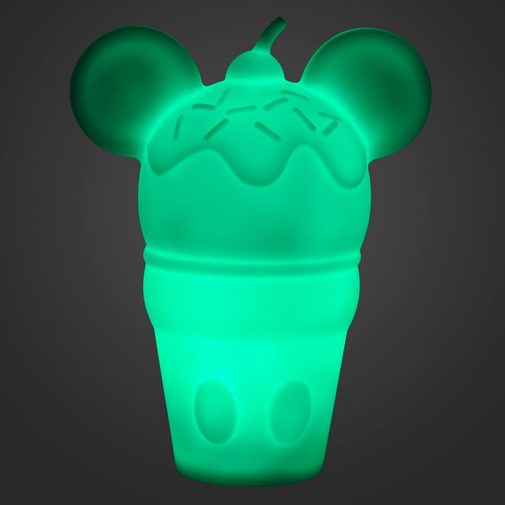 Mickey Mouse Ice Cream Cone Night Light