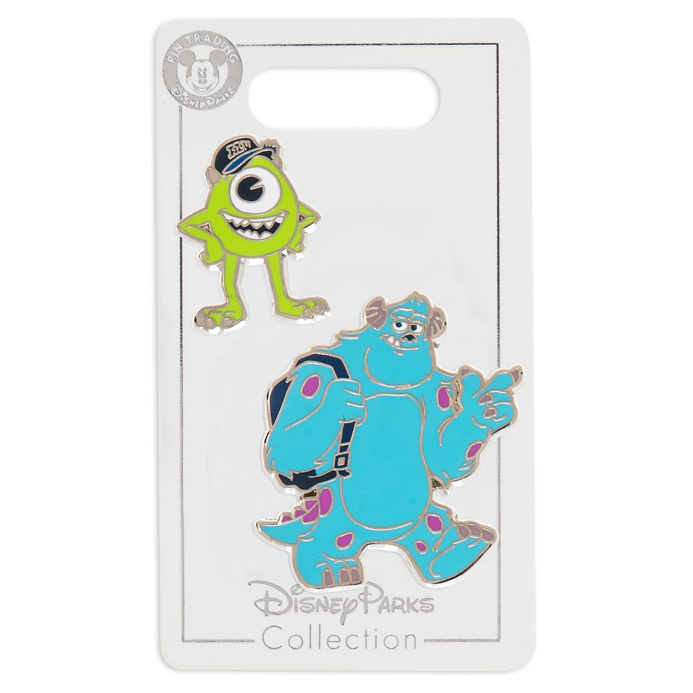 Mike and Sulley Pin Set – Monsters University