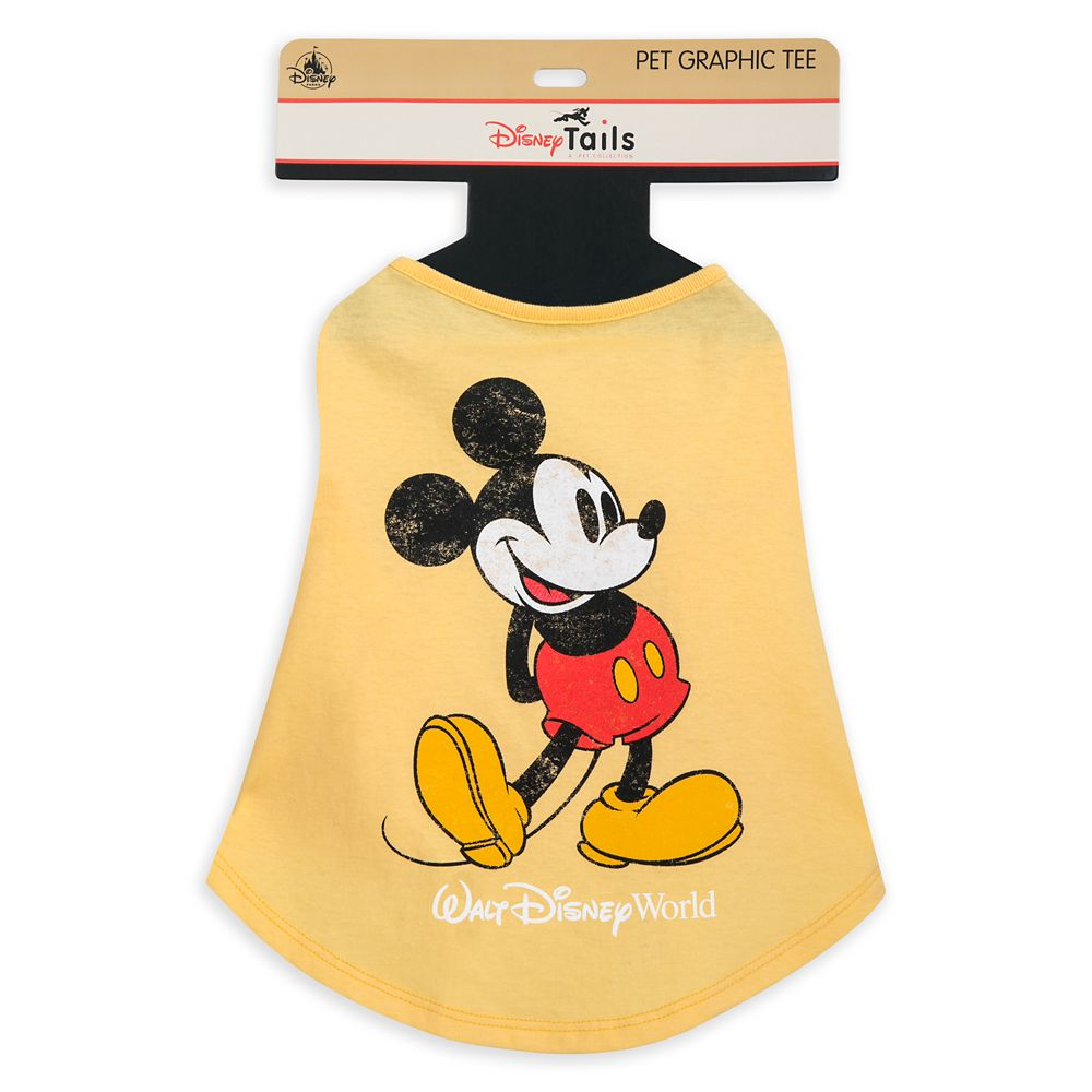 Mickey Mouse Classic T-Shirt for Dogs – Disney Tails – Walt Disney World