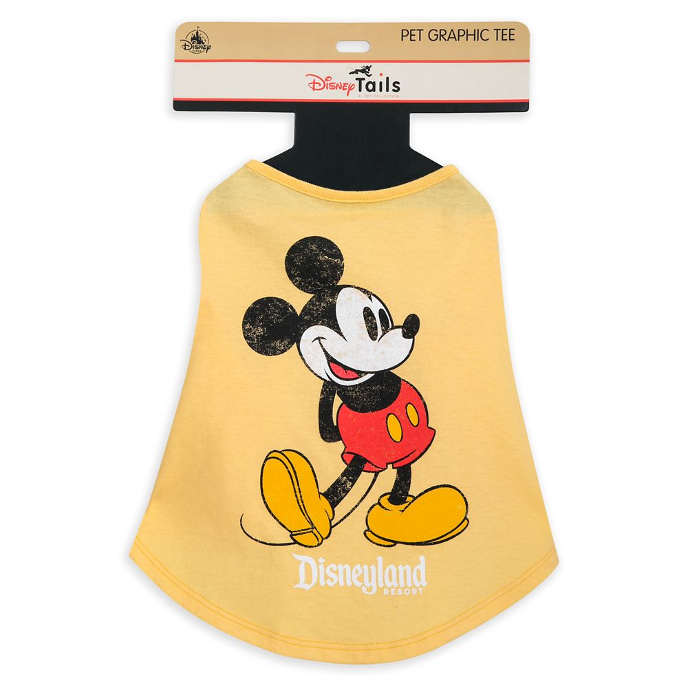 Mickey Mouse Classic T-Shirt for Dogs – Disney Tails – Disneyland