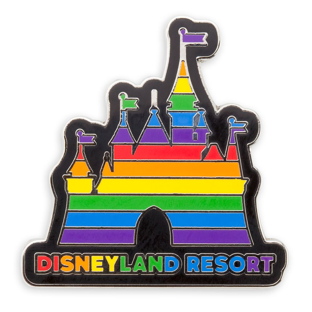 Rainbow Disney Collection Fantasyland Castle Pin – Disneyland – 2020