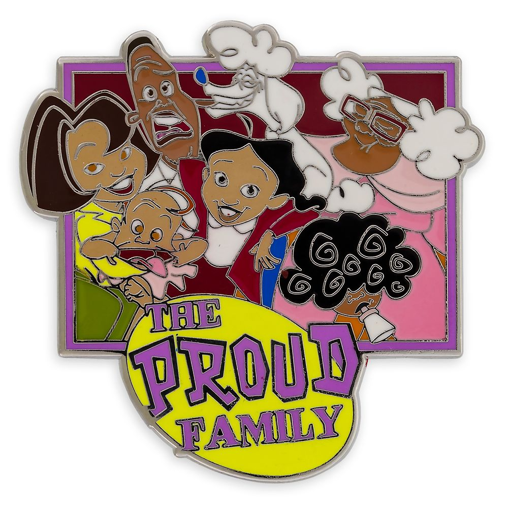 The Proud Family Pin