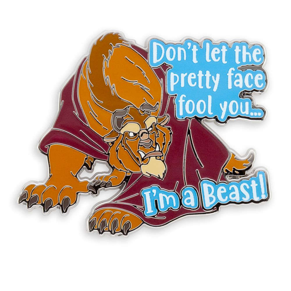 Beast Pin – Beauty and the Beast