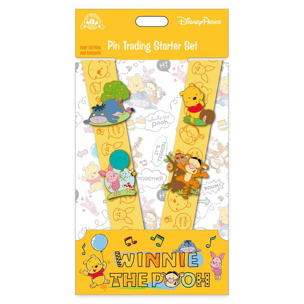 Winnie the Pooh Pin Trading Starter Set