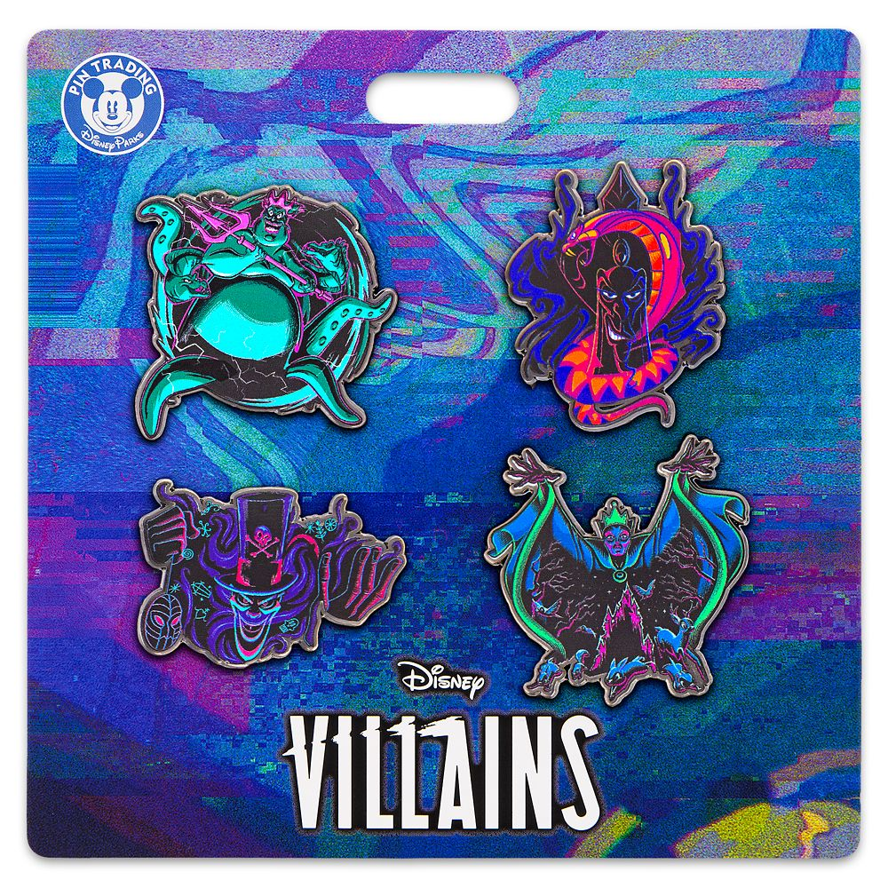 Disney Villains Pin Set