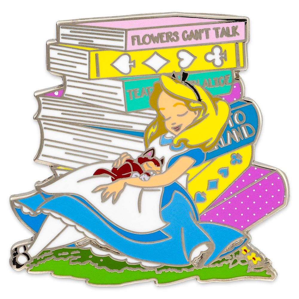 Alice and Dinah Pin – Alice in Wonderland
