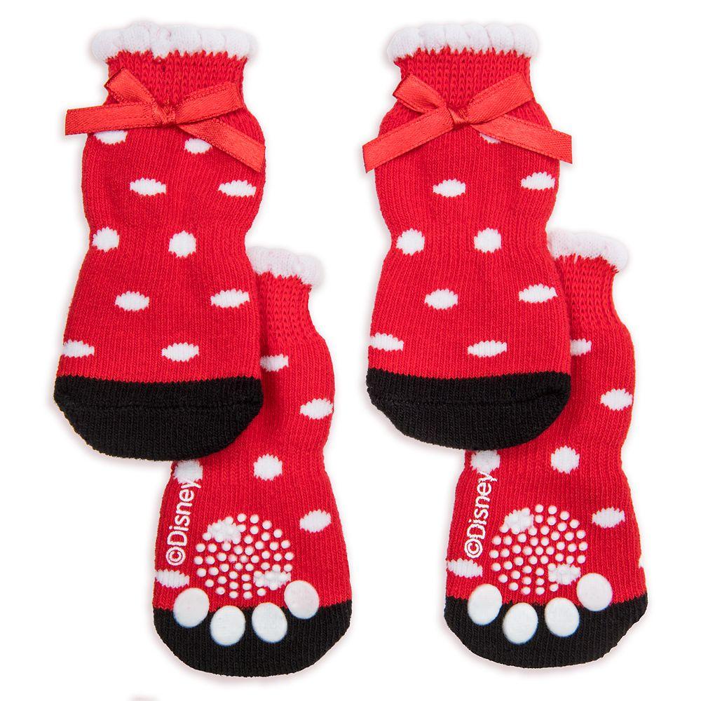 Minnie Mouse Dog Socks – Disney Tails
