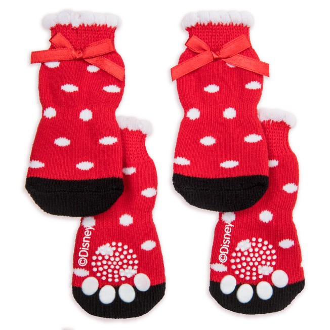 Minnie Mouse Dog Socks – Disney Tails