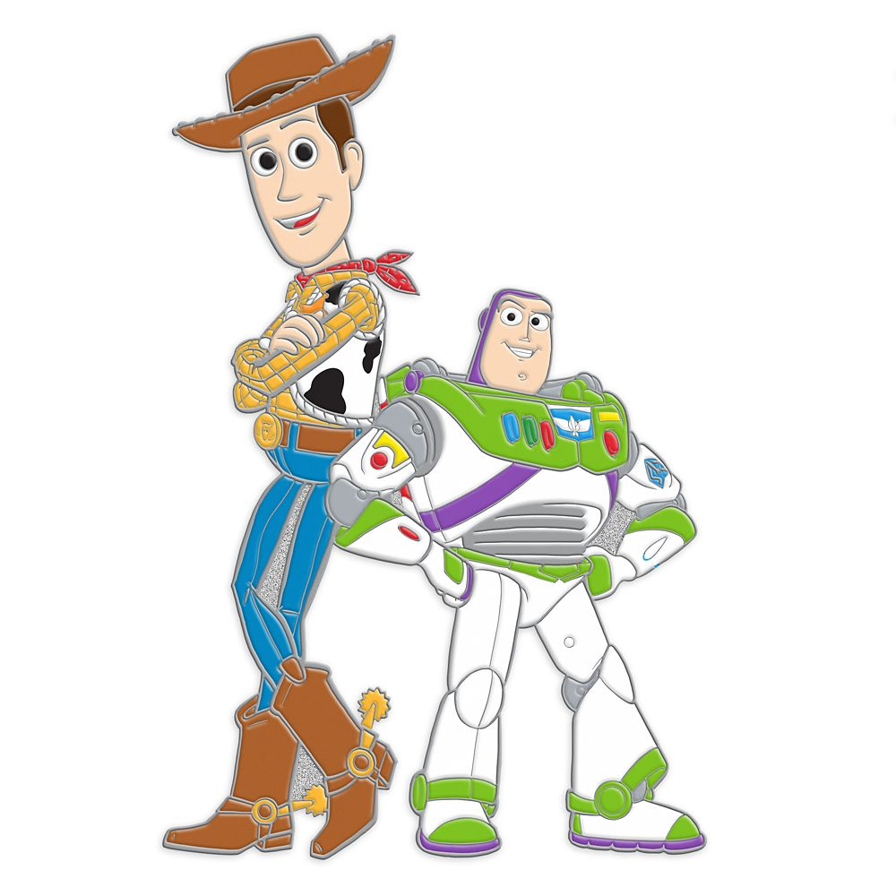 Woody and Buzz Lightyear Pin