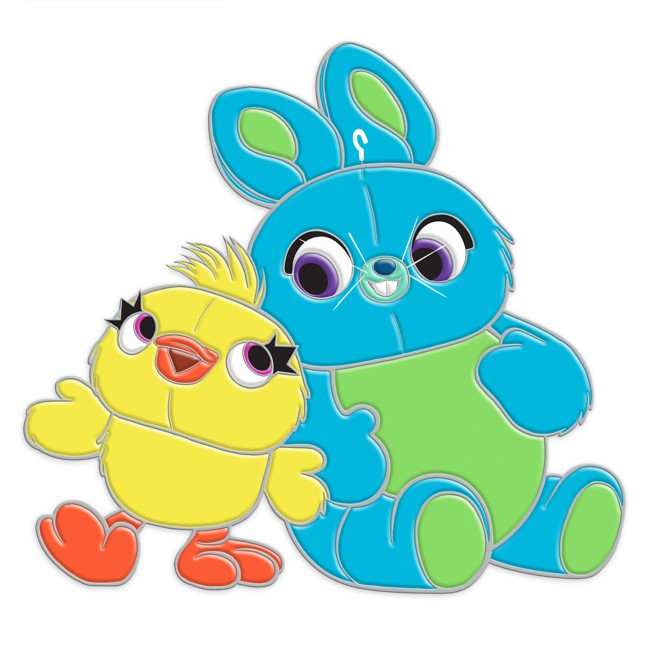 Ducky and Bunny Pin – Toy Story 4