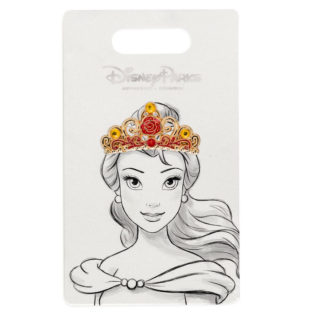 Belle Tiara Pin