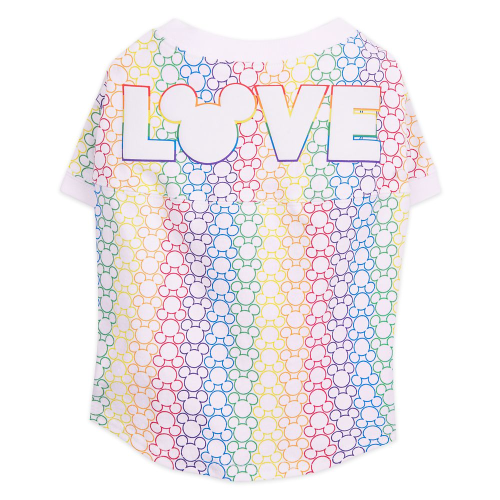 Rainbow Disney Collection Mickey Mouse T-Shirt for Dogs by Spirit Jersey