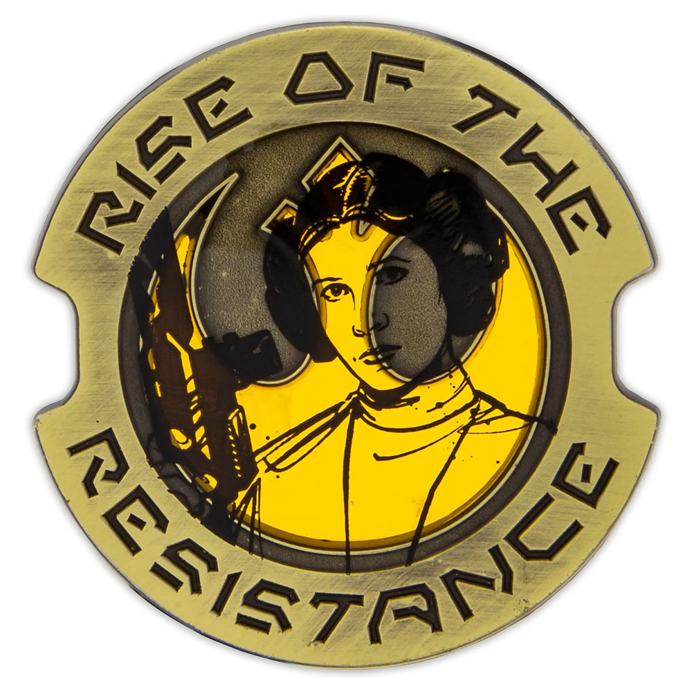 Princess Leia Organa Pin – Star Wars: Galaxy's Edge: Rise of the Resistance –Limited Edition