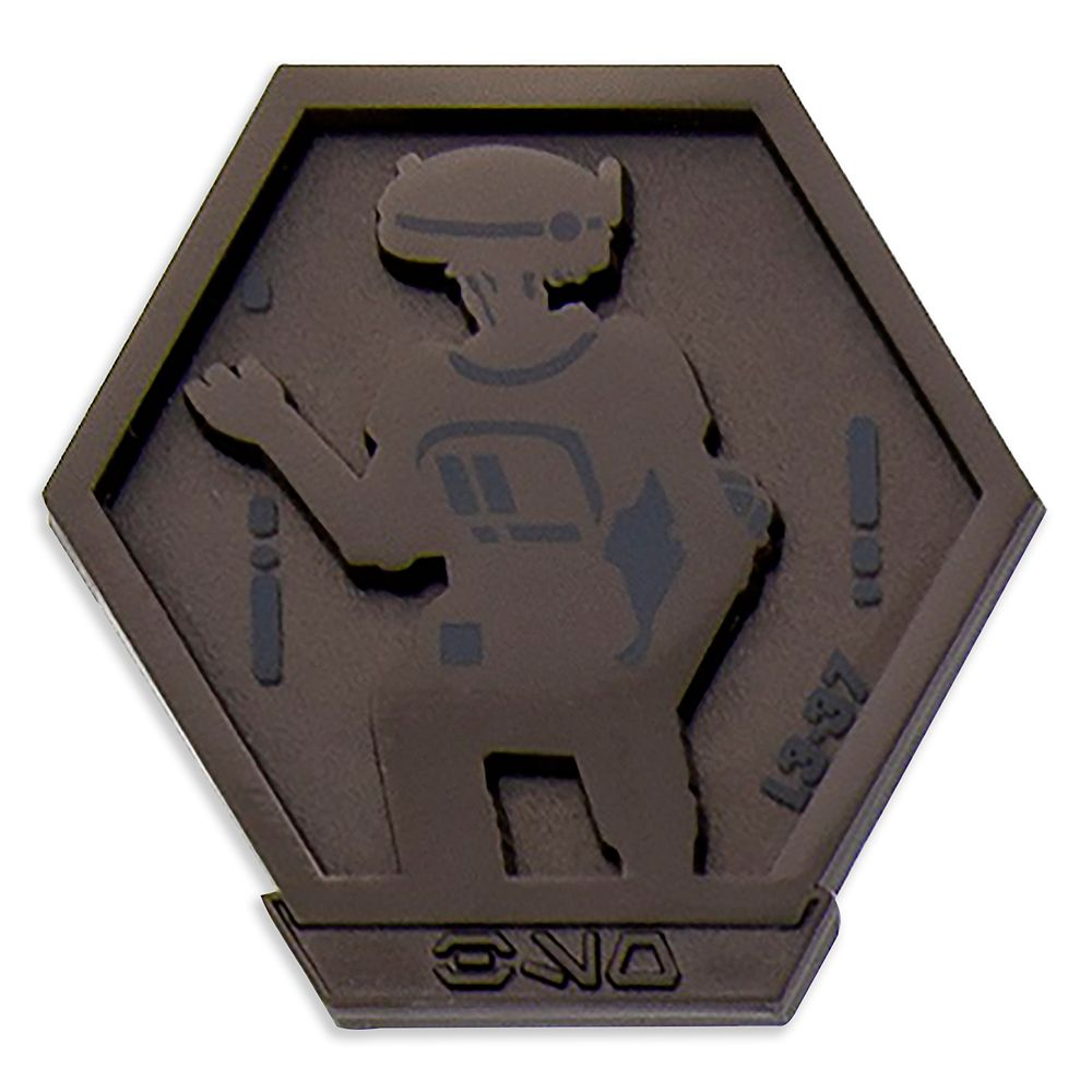 L3-37 Pin – Star Wars: Galaxy's Edge: Droid Badge – Walt Disney World – Limited Edition