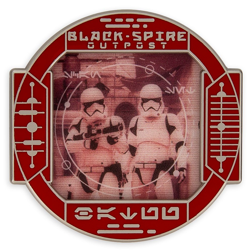 Stormtrooper Pin – Star Wars: Galaxy's Edge: First Order Scouting – Walt Disney World – Limited Edition