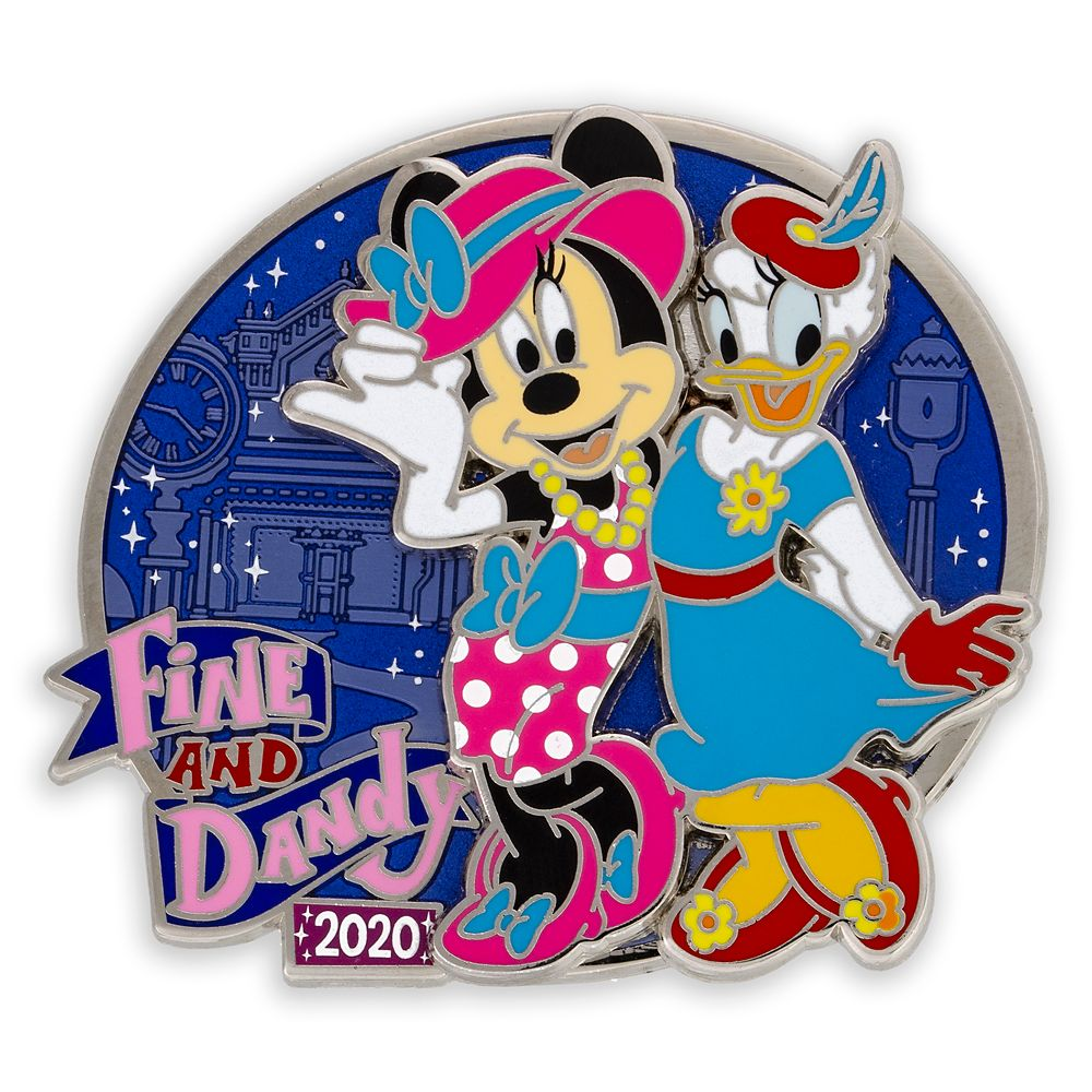 Minnie Mouse and Daisy Duck Pin – Fine and Dandy 2020 – Limited Edition