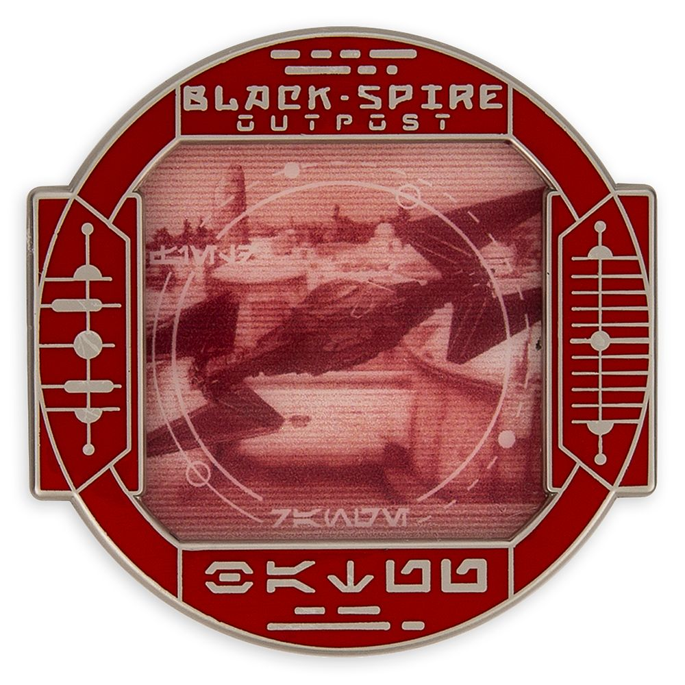 Kylo Ren's TIE Fighter Pin – Star Wars: Galaxy's Edge: First Order Scouting – Walt Disney World – Limited Edition