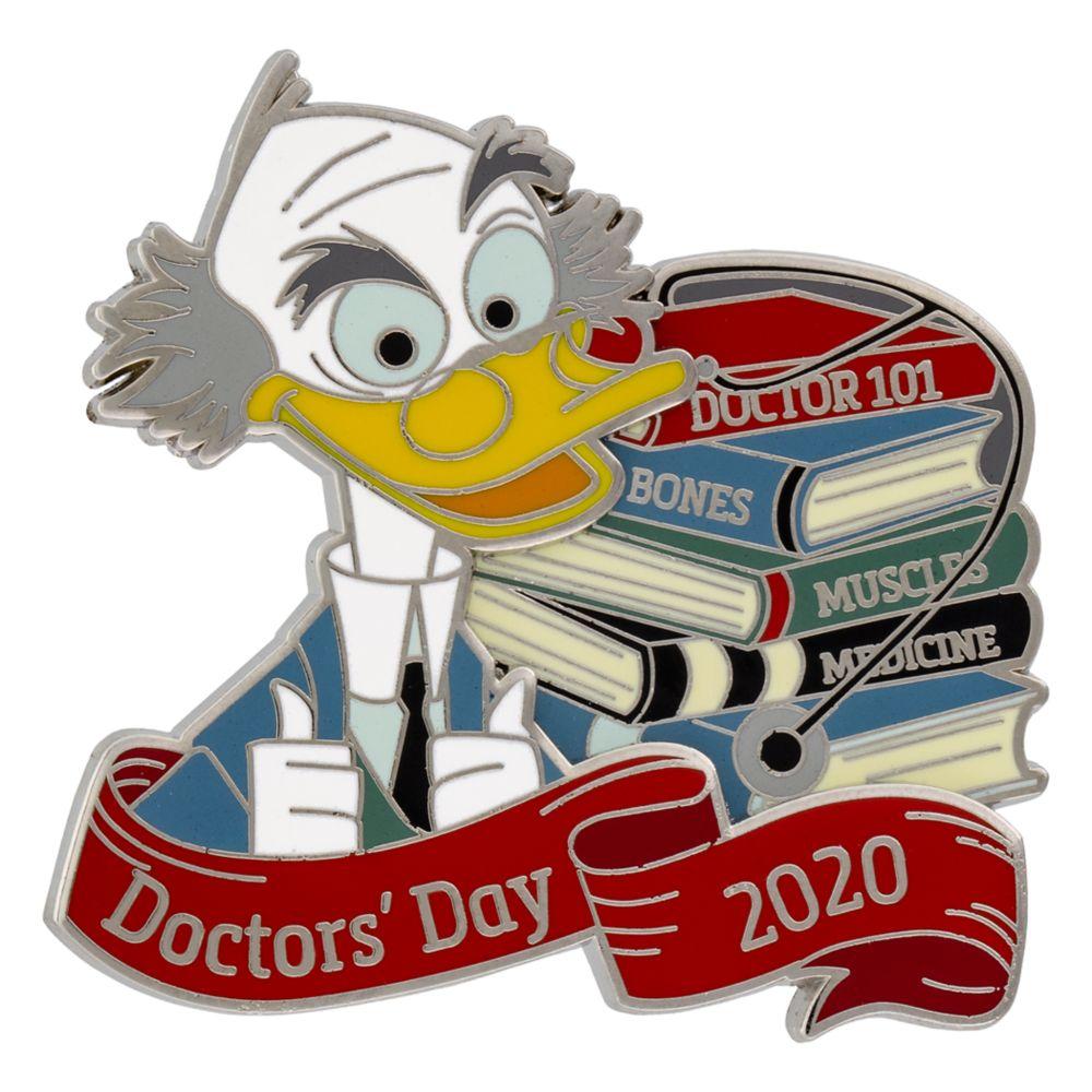 Ludwig Von Drake Pin – Doctor's Day 2020 – Disneyland – Limited Edition