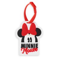 Minnie Mouse Bow Luggage Tag