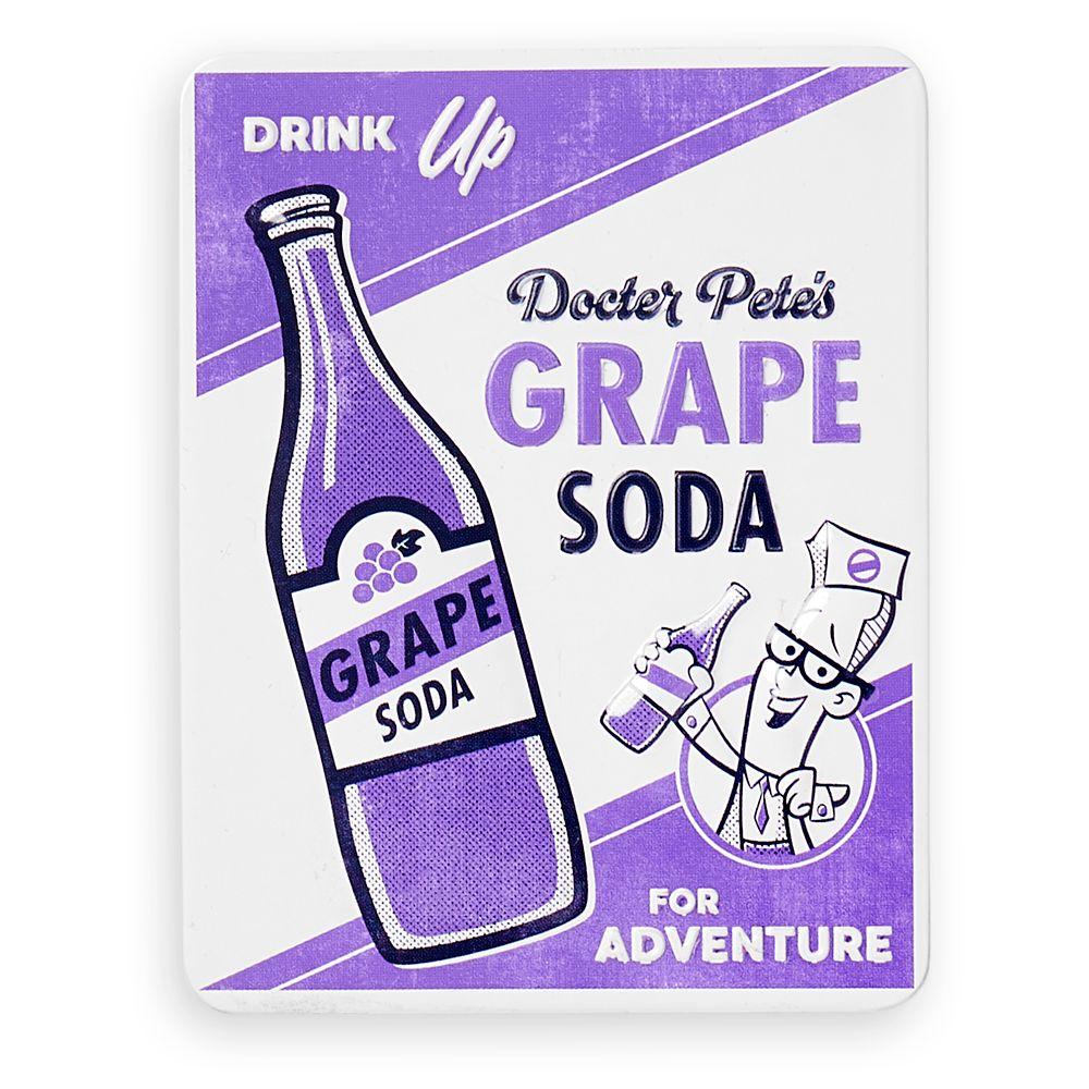 Grape Soda Tin Magnet – Up