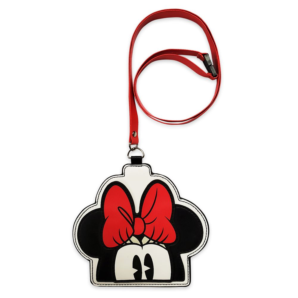 Minnie Mouse ID Card Holder & Lanyard