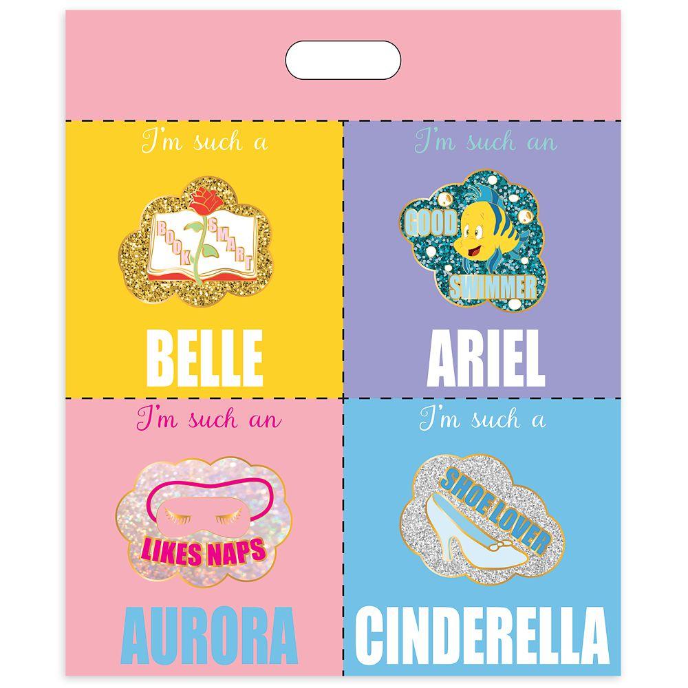 Disney Princess D-Flair Pin Set