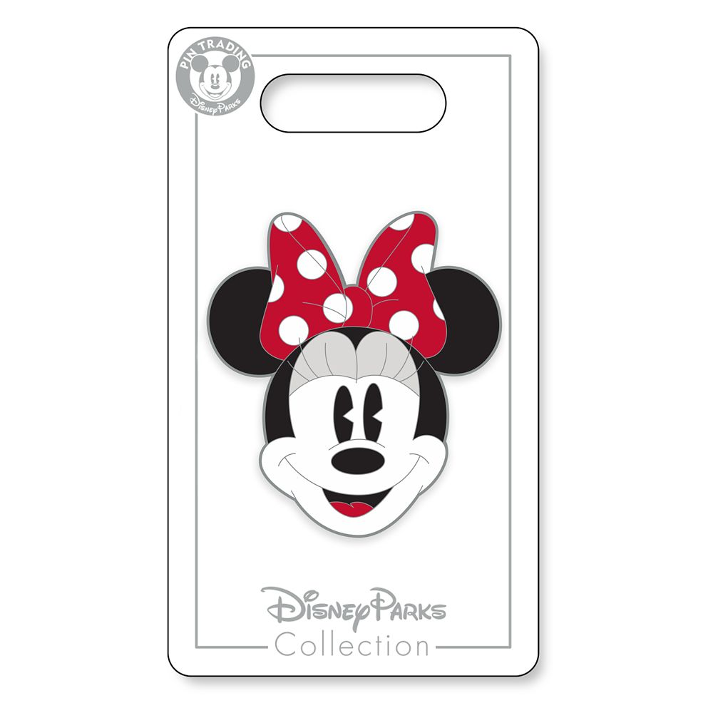 Minnie Mouse Face Pin