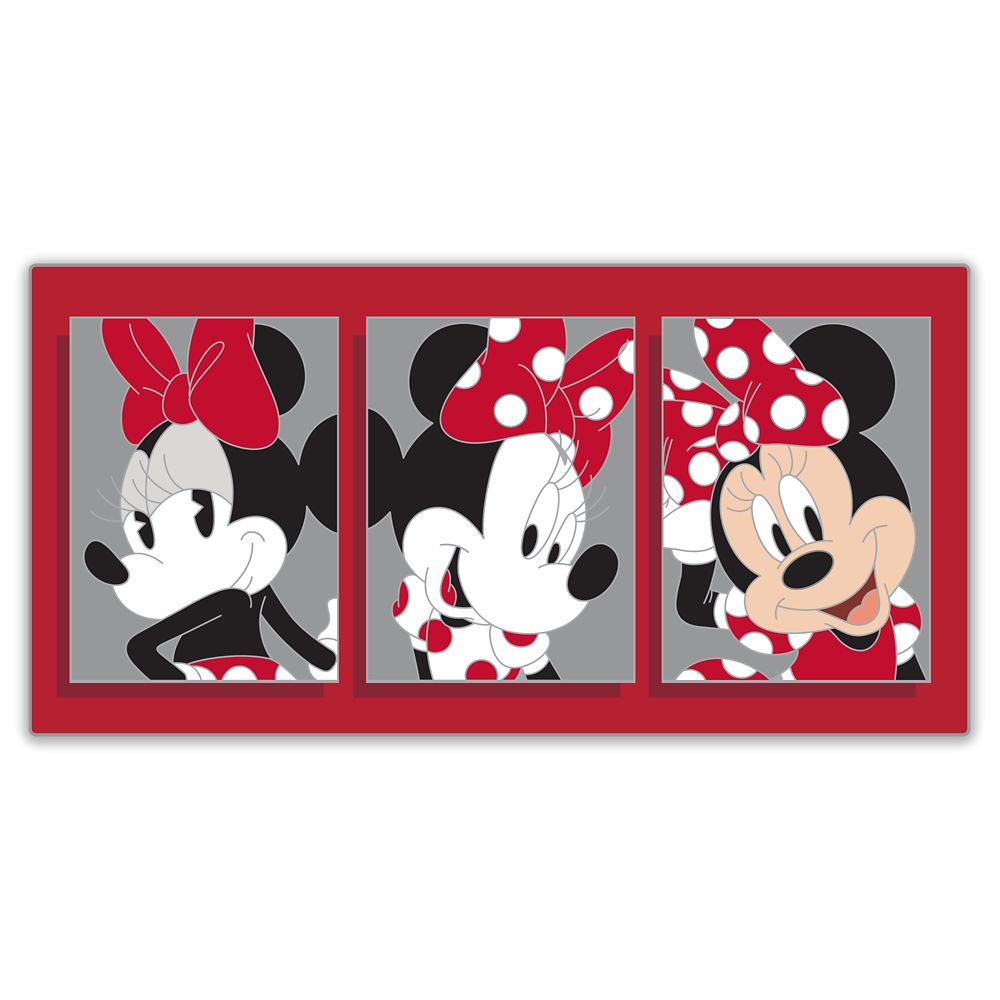 Minnie Mouse Through the Years Pin