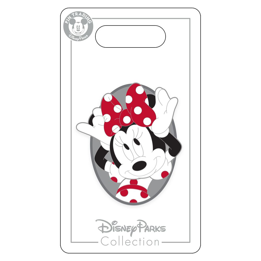 Minnie Mouse Cameo Pin