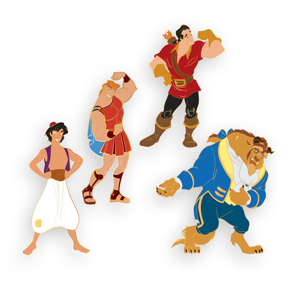 Disney Boy Band D-Flair Pin Set