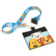 Disney Dogs Loungefly Lanyard and Card Holder