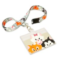 Disney Cats Loungefly Lanyard and Card Holder