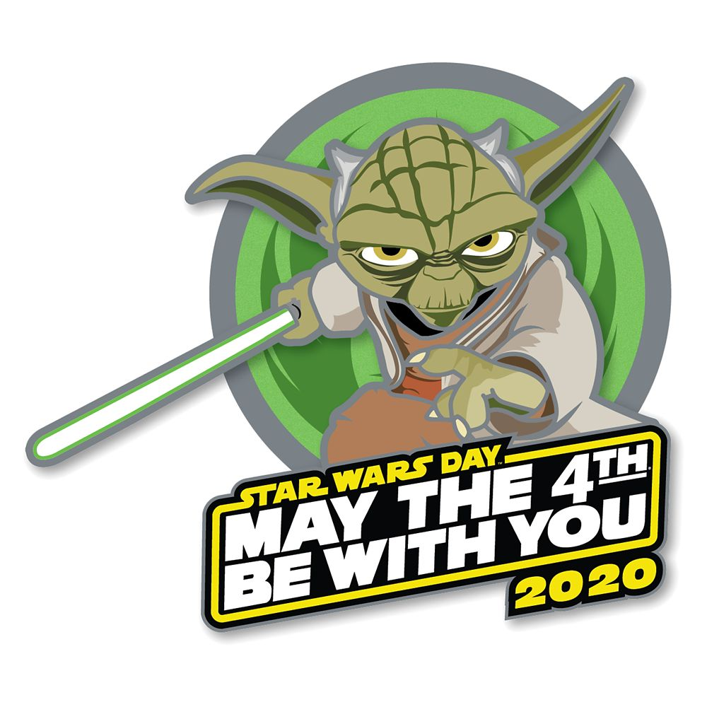 Yoda ''May the 4th Be With You'' 2020 Pin – Star Wars Day – Limited Release