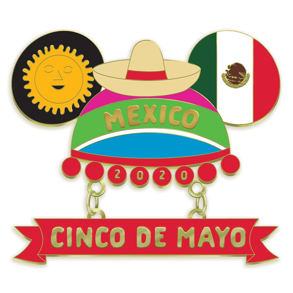Mouseketeer Ear Hat Pin – Cinco De Mayo 2020 – Limited Edition