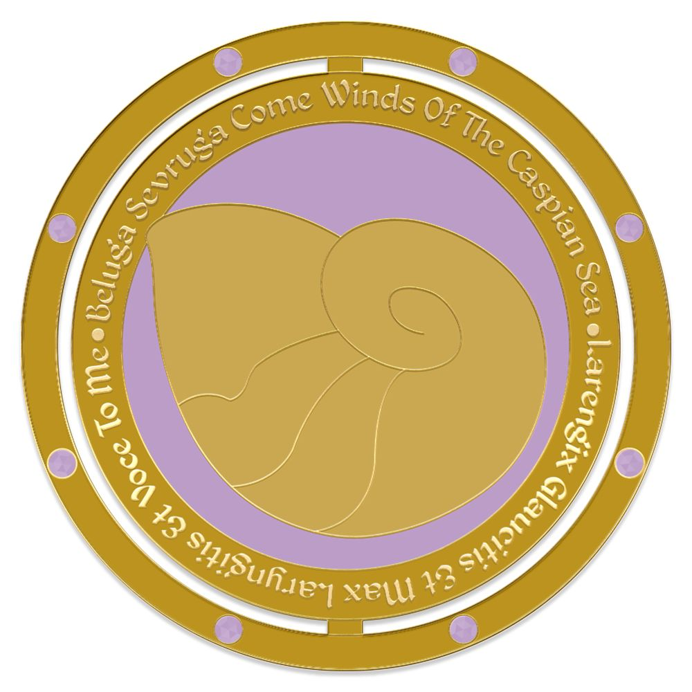 Ursula Spinner Pin – The Little Mermaid – Enchanted Emblems – Pin of the Month – Limited Edition