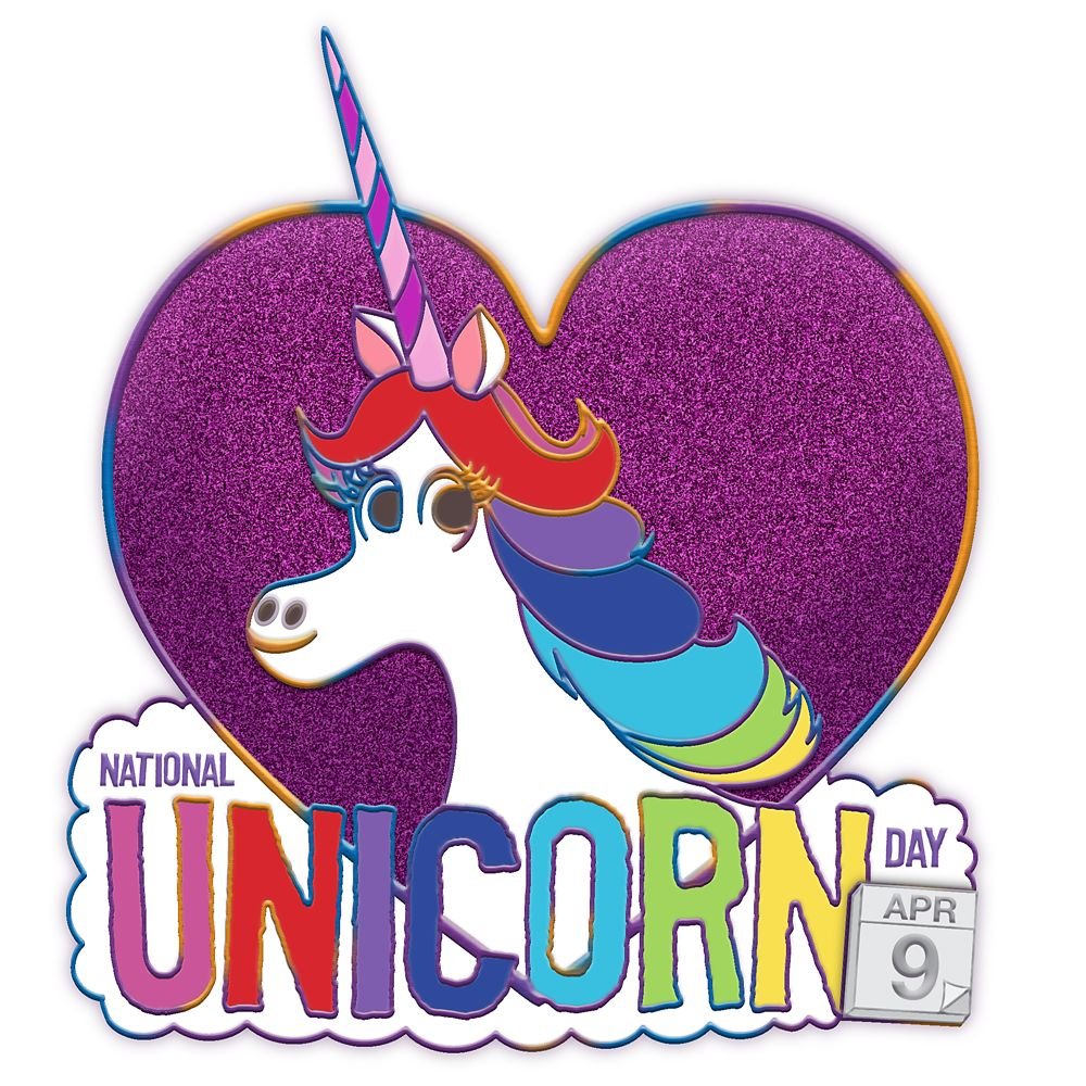 Rainbow Unicorn – Inside Out – National Unicorn Day 2020 – Pin of the Month – Limited Edition