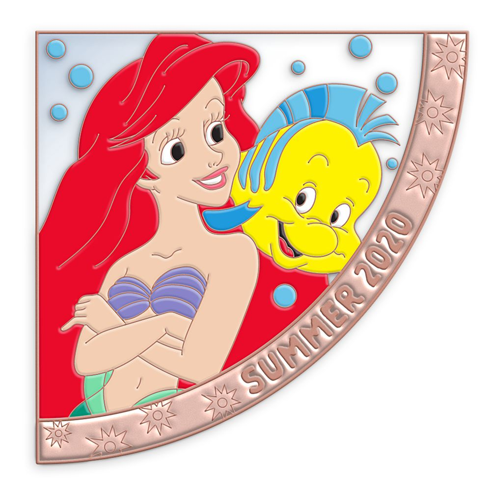 Ariel and Flounder Pin – Seasons Series – Summer 2020 – Limited Edition
