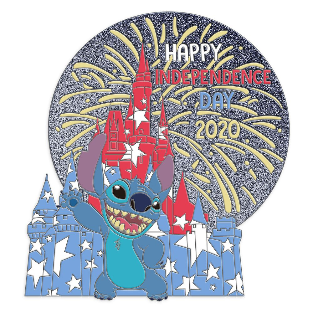 Stitch Pin – Independence Day 2020 – Limited Edition