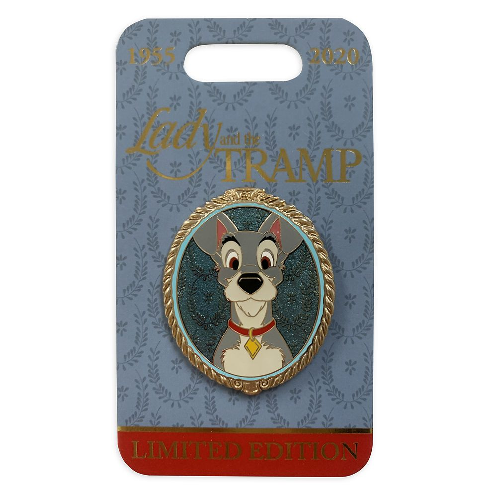 Tramp Portrait Pin – Lady and the Tramp – Limited Edition