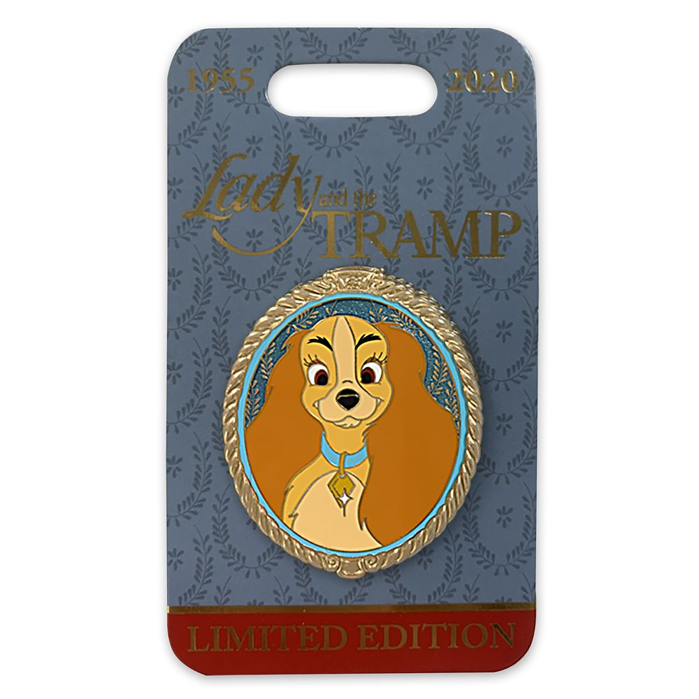 Lady Portrait Pin – Lady and the Tramp – Limited Edition