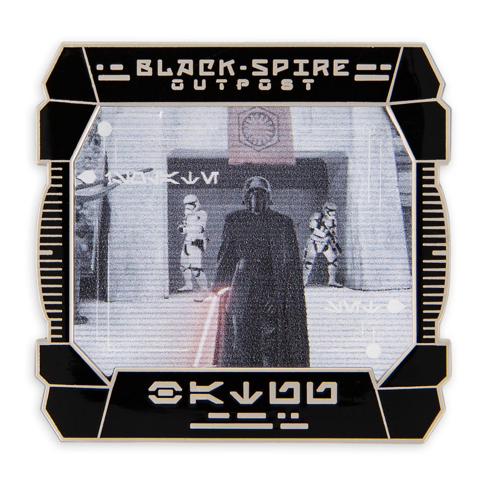 Kylo Ren Pin – Star Wars: Galaxy's Edge: First Order Reconnaissance – Pin of the Month – Limited Edition