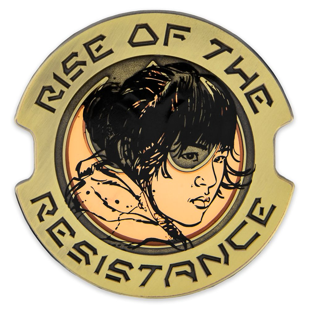 Rose Tico Pin – Star Wars: Galaxy's Edge: Rise of the Resistance – Pin of the Month – Limited Edition