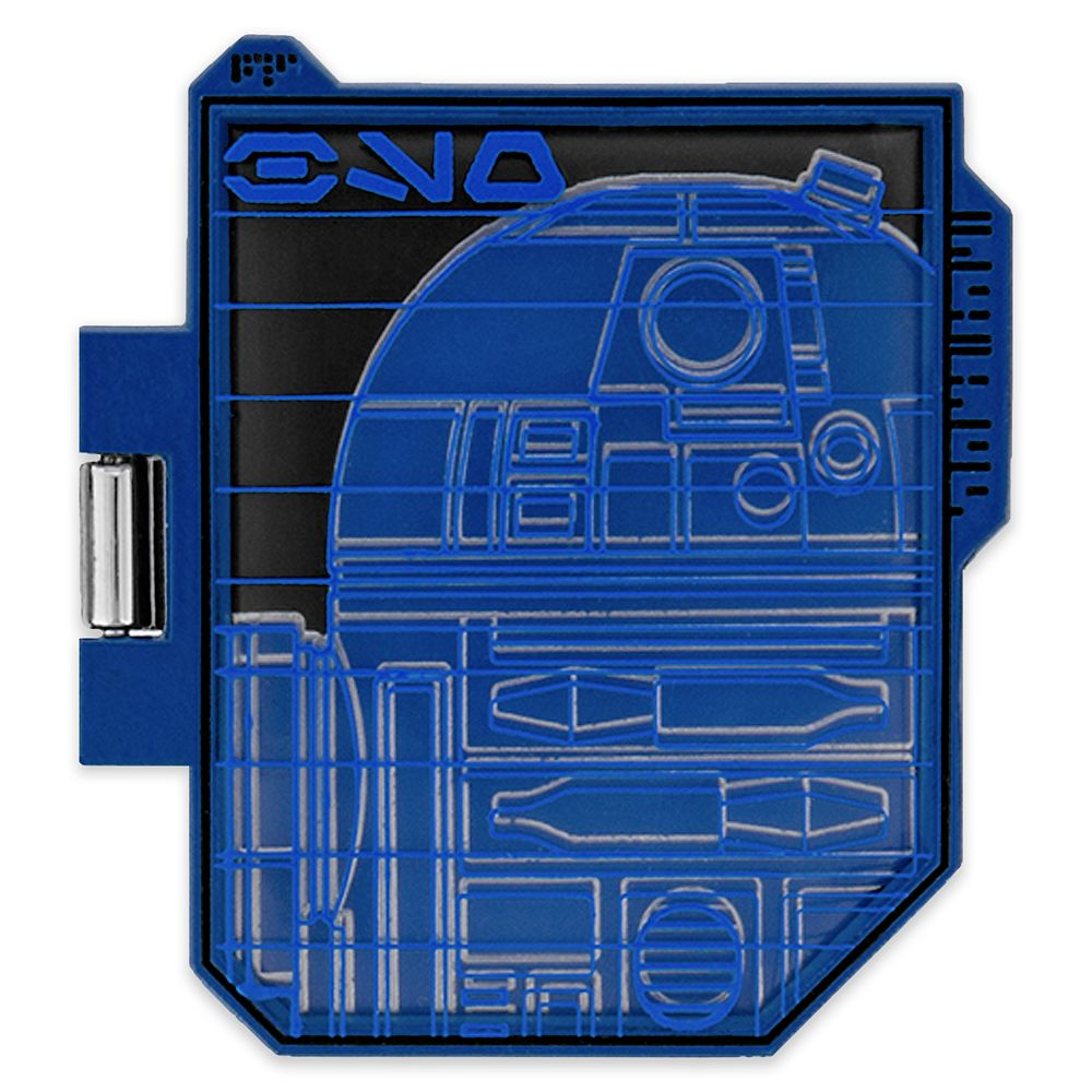 R2-D2 Pin – Star Wars: Galaxy's Edge: Droid Schematic – Pin of the Month – Limited Edition
