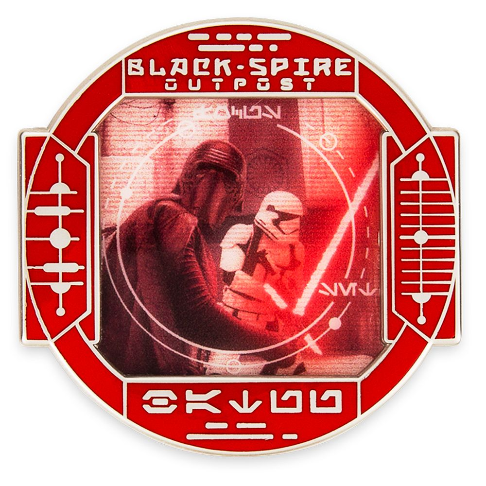 Kylo Ren Pin – Star Wars: Galaxy's Edge: First Order Scouting – Pin of the Month – Limited Edition