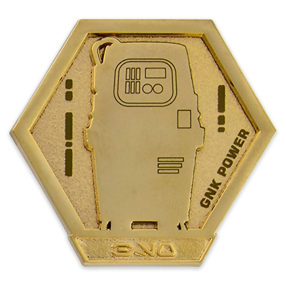 GNK Power Droid Pin – Star Wars: Galaxy's Edge: Droid Badge – Pin of the Month – Limited Edition