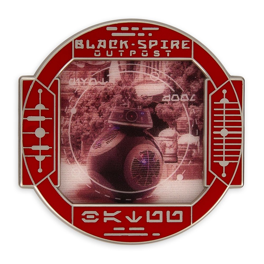 BB-9E Pin – Star Wars: Galaxy's Edge: First Order Scouting – Pin of the Month – Limited Edition
