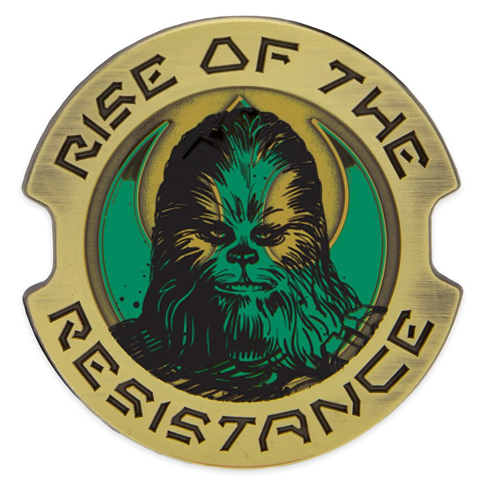Chewbacca Pin – Star Wars: Galaxy's Edge: Rise of the Resistance – Limited Edition