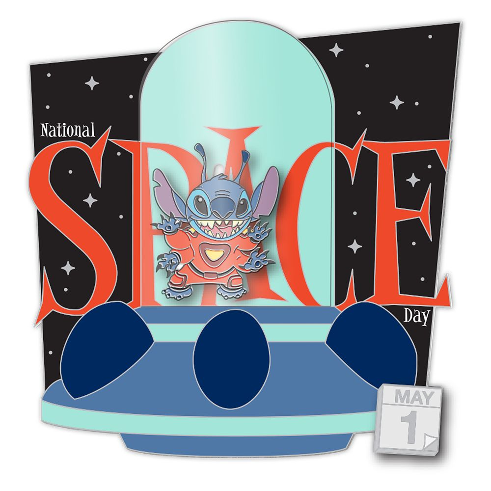 Stitch – National Space Day 2020 – Pin of the Month – Limited Edition